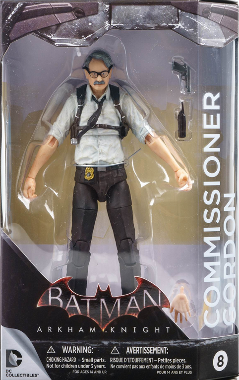DC Batman Arkham Knight Series Commissioner Gordon Action Figure #8 - Action Figure Warehouse Australia | Comic Collectables