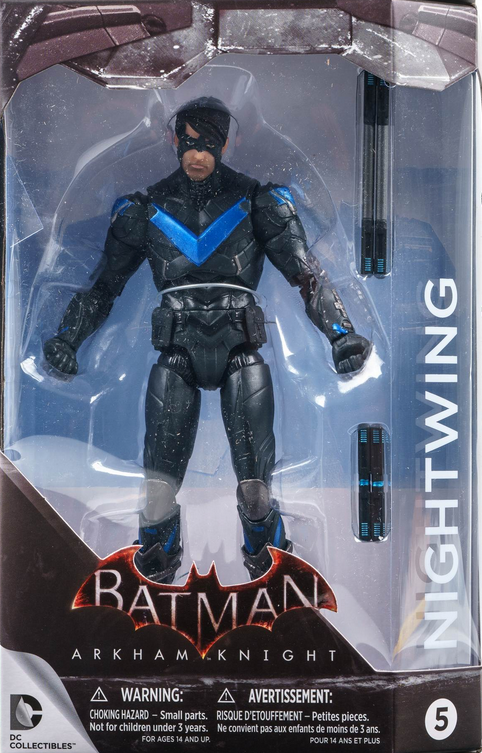 DC Batman Arkham Knight Series Nightwing Action Figure #5 - Action Figure Warehouse Australia | Comic Collectables