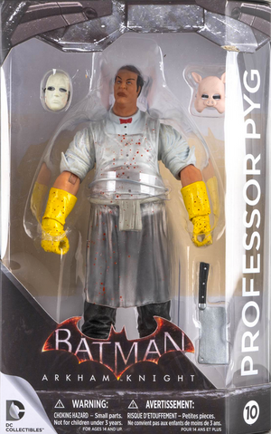 DC Batman Arkham Knight Series Professor Pyg Action Figure #10 - Action Figure Warehouse Australia | Comic Collectables