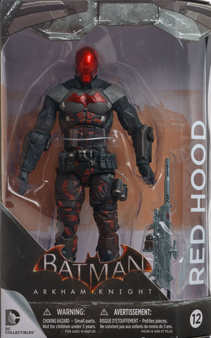DC Batman Arkham Knight Series Red Hood Action Figure #12 - Action Figure Warehouse Australia | Comic Collectables