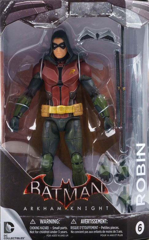 DC Batman Arkham Knight Series Robin Action Figure #6 - Action Figure Warehouse Australia | Comic Collectables
