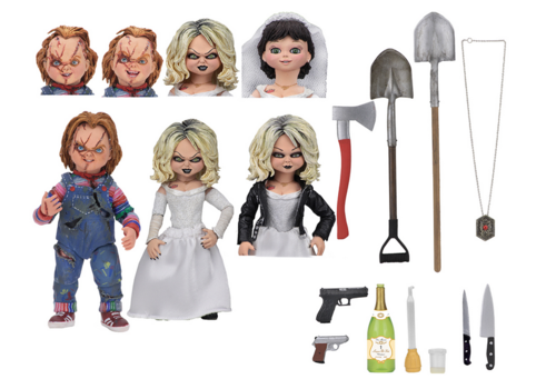 Chucky Neca Bride Of Chucky Action Figure 2-Pack
