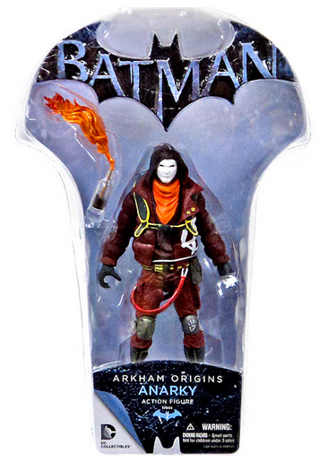 DC Batman Arkham Origins Anarky Action Figure - Action Figure Warehouse Australia | Comic Collectables