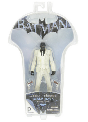 DC Batman Arkham Origins Black Mask Action Figure - Action Figure Warehouse Australia | Comic Collectables