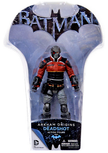 DC Batman Arkham Origins Deadshot Action Figure - Action Figure Warehouse Australia | Comic Collectables
