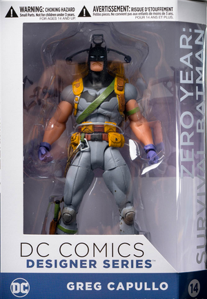 DC Batman Greg Capullo Designer Series Zero Year Batman Survival Action Figure #14 - Action Figure Warehouse Australia | Comic Collectables