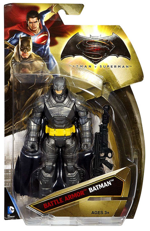 DC Batman v Superman Batman Battle Armor Action Figure - Action Figure Warehouse Australia | Comic Collectables