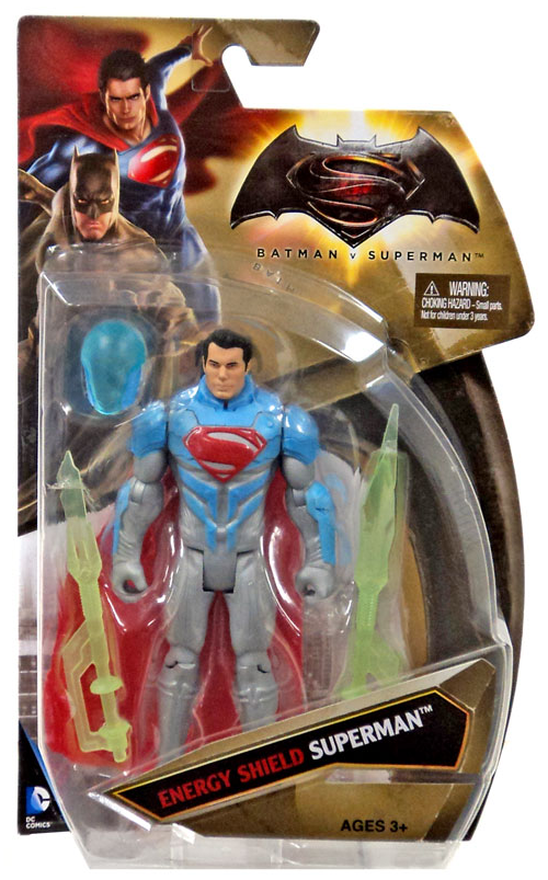 DC Batman v Superman Superman Energy Shield Action Figure - Action Figure Warehouse Australia | Comic Collectables