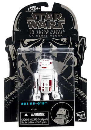 Star Wars Black Series R5-G19 Droid Action Figure
