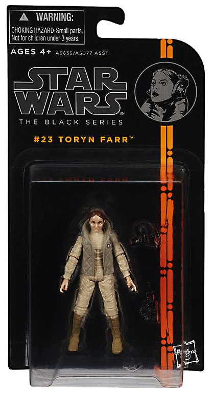 Star Wars Black Series Toryn Farr Hoth Action Figure