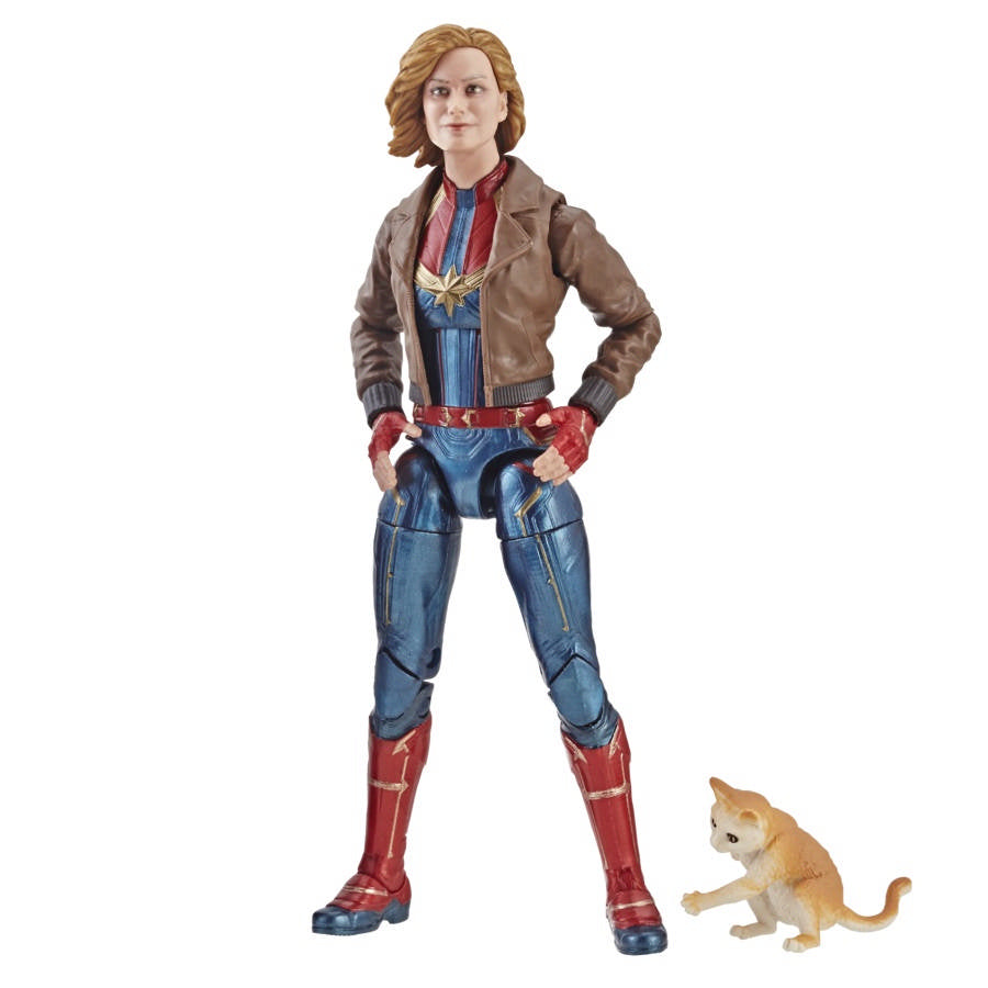 Marvel Legends Captain Marvel Series Captain Marvel w/ Jacket Action Figure Pre-Order