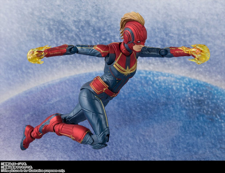 Marvel Bandai SH Figuarts Captain Marvel Action Figure
