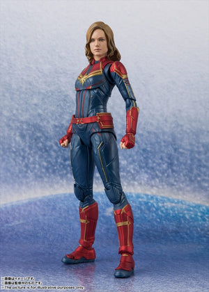 Marvel Bandai SH Figuarts Captain Marvel Action Figure Pre-Order
