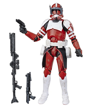 Star Wars Black Series Exclusive Clone Commander Fox Action Figure