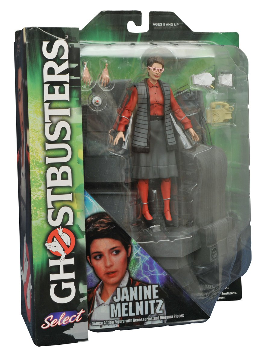 Ghostbusters Diamond Select Janine Series 3 Action Figure