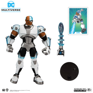 DC Multiverse McFarlane Series Teen Titans Cyborg Action Figure