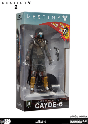 Destiny 2 Vanguard Mentor Cayde-6 Action Figure - Action Figure Warehouse Australia | Comic Collectables