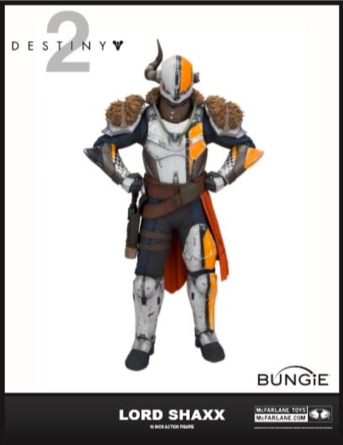 Destiny 2 Lord Shaxx 10 Inch Action Figure