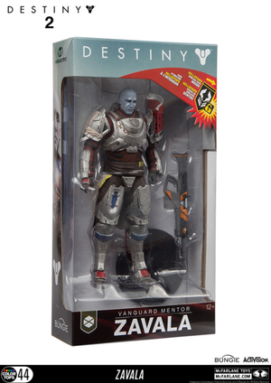 Destiny 2 Vanguard Mentor Zavala Action Figure - Action Figure Warehouse Australia | Comic Collectables