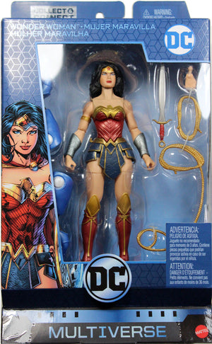 DC Multiverse Lex Luthor Rebirth Series Wonder Woman Action Figure