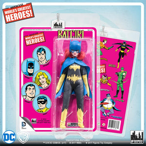 DC Retro Mego Kresge Style Batgirl Retro Card Action Figure - Action Figure Warehouse Australia | Comic Collectables
