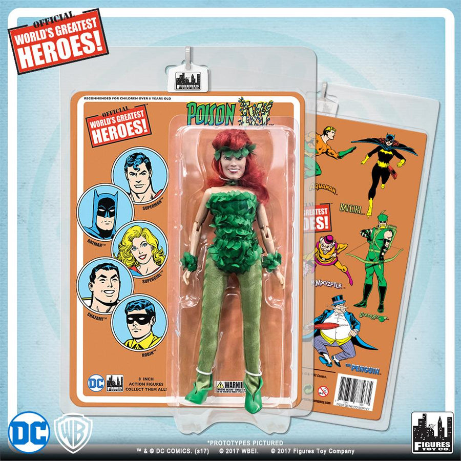 DC Retro Mego Kresge Style Poison Ivy Retro Card Action Figure - Action Figure Warehouse Australia | Comic Collectables