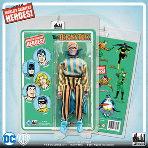 DC Retro Mego Kresge Style Trickster Retro Card Action Figure - Action Figure Warehouse Australia | Comic Collectables