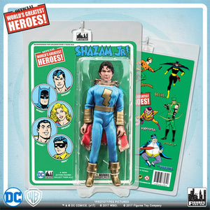 DC Retro Mego Kresge Style Shazam Jr Retro Card Action Figure - Action Figure Warehouse Australia | Comic Collectables