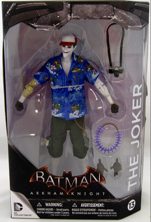 DC Batman Arkham Knight Series The Joker Figure #13 - Action Figure Warehouse Australia | Comic Collectables