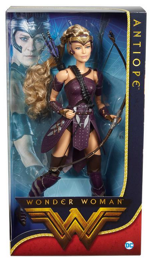 DC Barbie Wonder Woman Movie General Antiope Black Label Doll - Action Figure Warehouse Australia | Comic Collectables