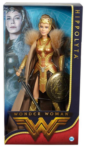 DC Barbie Woman Movie Queen Hippolyta Black Label Doll - Action Figure Warehouse Australia | Comic Collectables