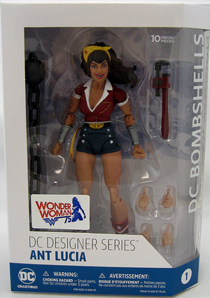DC Collectibles Bombshells Series Wonder Woman Action Figure - Action Figure Warehouse Australia | Comic Collectables