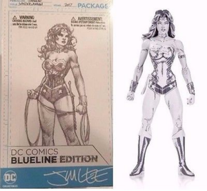 DC Blueline Edition Wonder Woman Jim Lee Action Figure - Action Figure Warehouse Australia | Comic Collectables