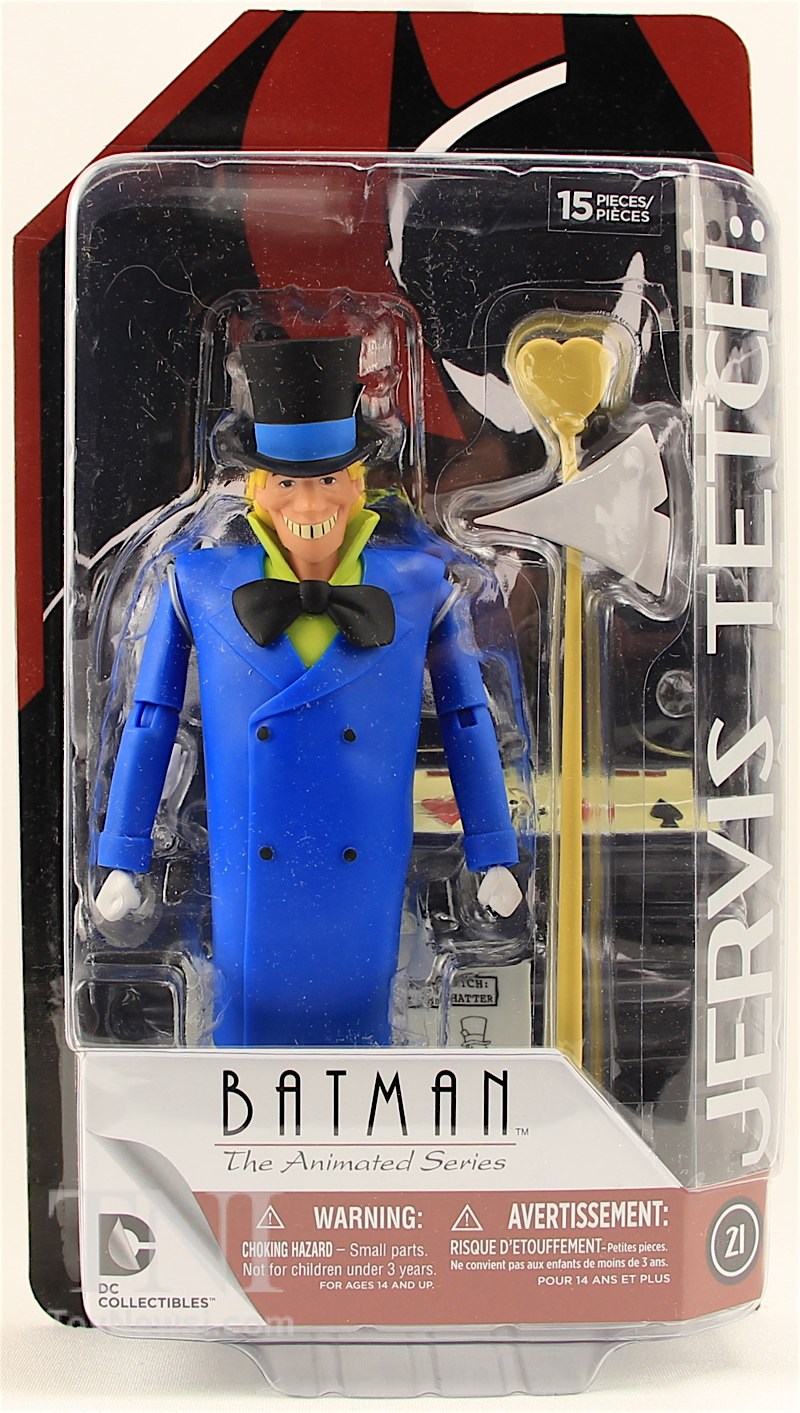 The Animated Series Mad Hatter Action Figure Dc Collectibles Batman