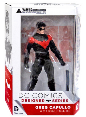 DC Batman Greg Capullo Designer Series Nightwing Action Figure #3 - Action Figure Warehouse Australia | Comic Collectables
