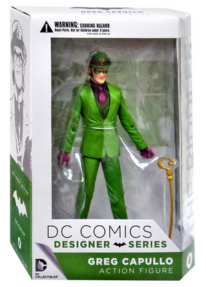 DC Batman Greg Capullo Designer Series The Riddler Action Figure #4 - Action Figure Warehouse Australia | Comic Collectables