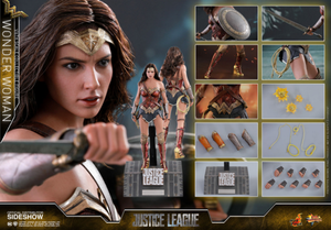 DC Hot Toys Justice League Wonder Woman 1:6 Scale Action Figure HOTMMS450 Pre-Order - Action Figure Warehouse Australia | Comic Collectables