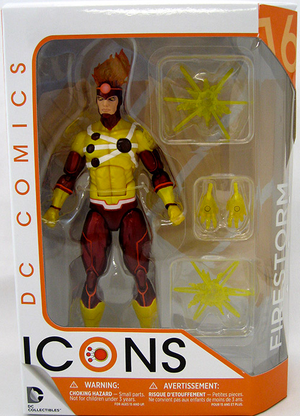 DC Icons Series Firestorm Action Figure #16 - Action Figure Warehouse Australia | Comic Collectables