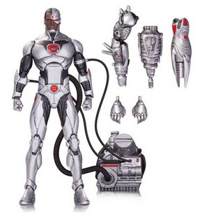 DC Icons Series Cyborg Justice League Forever Evil Action Figure #20 - Action Figure Warehouse Australia | Comic Collectables