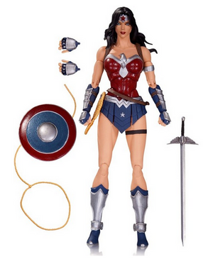 DC Icons Series Wonder Woman The Amazon Virus Action Figure #19 - Action Figure Warehouse Australia | Comic Collectables