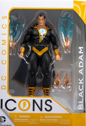DC Icons Series Black Adam Forever Evil Action Figure #7 - Action Figure Warehouse Australia | Comic Collectables