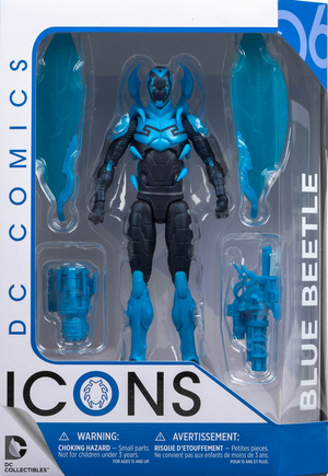 DC Icons Series Blue Beetle Infinite Crisis Action Figure #6 - Action Figure Warehouse Australia | Comic Collectables