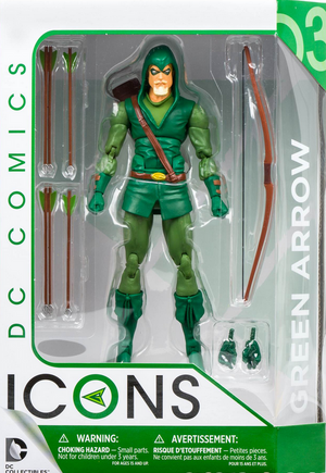 DC Icons Series Green Arrow Action Figure #3 - Action Figure Warehouse Australia | Comic Collectables