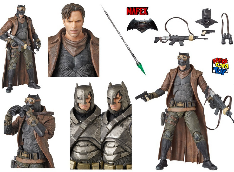 DC Mafex Batman V Superman Knightmare Batman Action Figure #31 - Action Figure Warehouse Australia | Comic Collectables