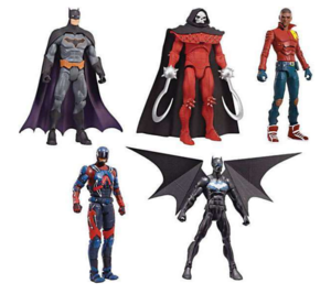 DC Multiverse Bat Mech Suit Set Of 5 - Action Figure Warehouse Australia | Comic Collectables