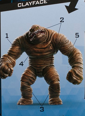 DC Multiverse Wave 8 Click N Collect Clayface Set Of 5 - Action Figure Warehouse Australia | Comic Collectables