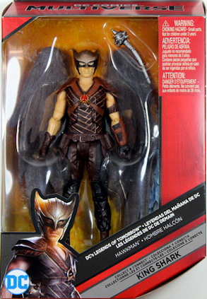 DC Multiverse Legends Of Tomorrow Hawkman Action Figure King Shark - Action Figure Warehouse Australia | Comic Collectables