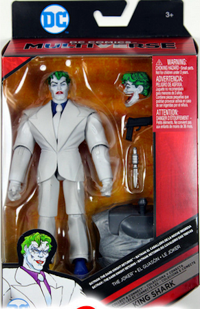 DC Multiverse Dark Knight III Joker Action Figure King Shark - Action Figure Warehouse Australia | Comic Collectables