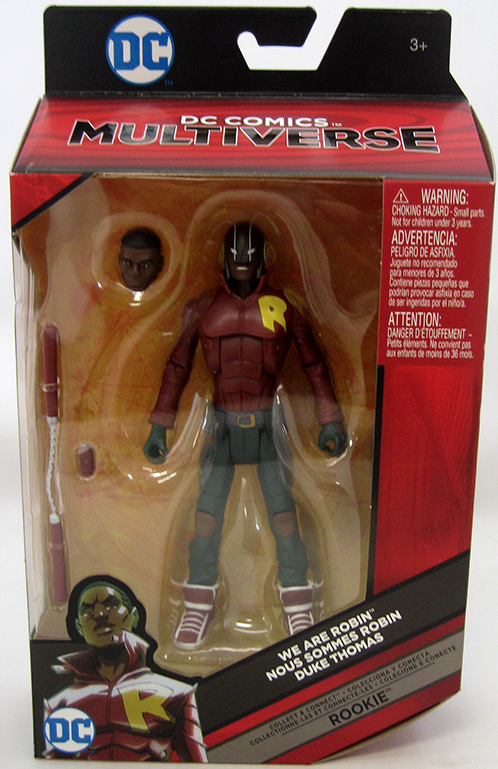 DC Multiverse Bat Mech Suit Duke Thomas Robin Action Figure - Action Figure Warehouse Australia | Comic Collectables