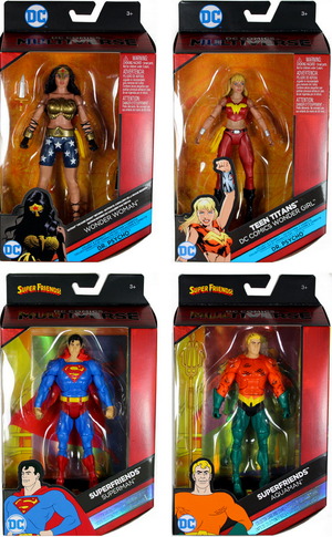 DC Multiverse Wave 7 Dr Psycho Set Of 4 - Action Figure Warehouse Australia | Comic Collectables
